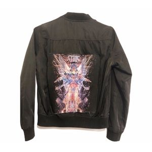 Custom CYNIC Band Patch Bomber Jacket Fairy BLK XS